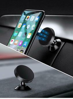 Magnetic Gear Car Phone Holder 360 Rotation With Mounting Pl