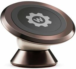 Magnetic Phone Car Mount, WizGear Magnetic Stick On Ball Mou