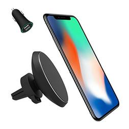 Magnetic QI Wireless Car Charger Mount, Neotrix Mobile Cell