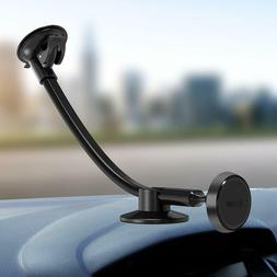 Ipow Magnetic Windshield Long Arm Car Mount Holder Cradle wi