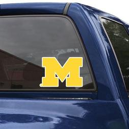 "Michigan Wolverines 8"" Color Team Logo Car Decal"