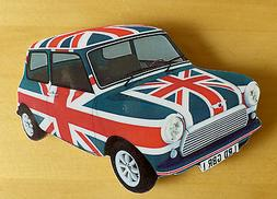 Mini Car Fridge Magnet, 60s Mod Mini Fridge Magnet, Union Ja