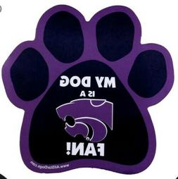 My Dog is a Wildcats Fan Car Magnet *NEW* Kansas State Wildc