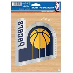 WinCraft NBA Indiana Pacers Die Cut Logo Chrome Magnet, 6.25