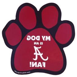 NCAA Alabama Crimson Tide Paw Print Car Magnet