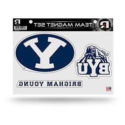 "Rico NCAA Byu Cougars NCAA Team Magnet Sheet, Blue, 11"" x 8."