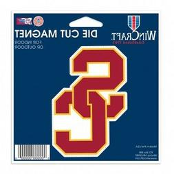 USC Trojans Official NCAA 4.5 inch x 6 inch magnet by Wincra