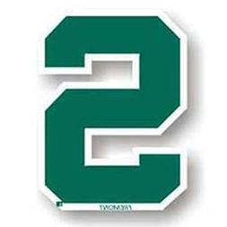 NCAA Michigan State Spartans 12-Inch Magnet