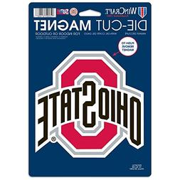 NCAA Ohio State University 81803014 Die Cut Logo Magnet, Sma