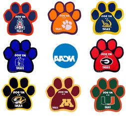 NCAA PAW Car Magnets for You and Your Dog!! Over 70 Teams -