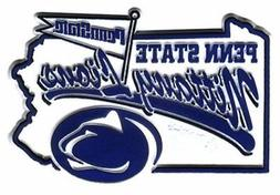 NCAA Penn State Nittany Lions 2D Mascot Map Magnet