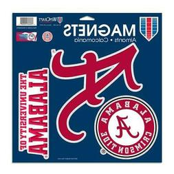 NCAA University of Alabama Vinyl Magnet, 11 x 11""