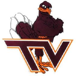 "NCAA Virginia Tech Hokies Car Magnet ""Hokie"""