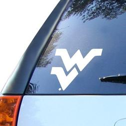 NCAA West Virginia Mountaineers 8x8 White Decal Logo