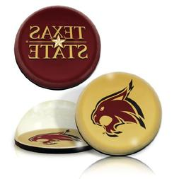 """NCAATexas State University Bobcats star and Logo in 2"""" Ø cr"""