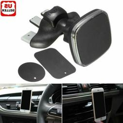 NEW 360º Magnetic Car CD Slot Air Vent Mount Holder Stand C