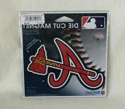 NEW WinCraft Die-Cut Car Magnet - Atlanta Braves Baseball