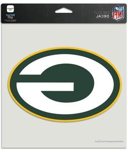 "WinCraft NFL Green Bay Packers Die-Cut Color Decal, 8""x8"", T"