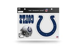 Rico Industries NFL Indianapolis Colts Die Cut Team Magnet S