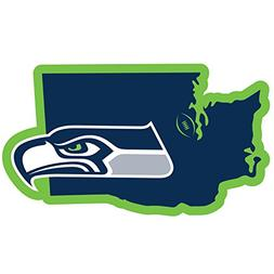"""NFL Seattle Seahawks Home State Magnet, 11"""", Blue"""
