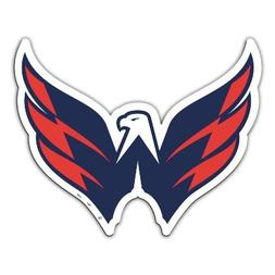 "NHL Washington Capitals 11.5"" x 12"" Team Logo Car Magnet"