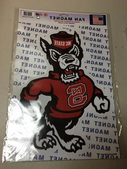 "NORTH CAROLINA NC STATE WOLFPACK  NCAA 14"" X 10""  Car Magnet"