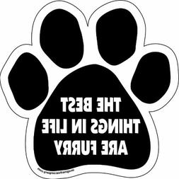 Imagine This Paw Car Magnet, The Best Things in Life are Fur