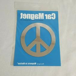 Peace Sign Silhouette Car Magnet or refrigerator magnet - ch