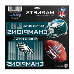 Philadelphia Eagles Super Bowl LII Champion 3-Pack Car Magne
