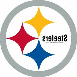 Pittsburgh Steelers Circle Magnet NEW REMOVABLE Car Bumper U