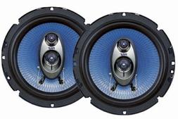 """4"""" Car Sound Speaker  - Upgraded Blue Poly Injection Cone 2-"""
