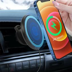 Qi Wireless Car Charger Magnetic Mount Holder For Samsung S1