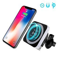 QI Wireless Car Charger, DOCA Magnetic QI Standard Car Charg