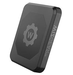 WizGear Rectangle Flat Stick On Dashboar