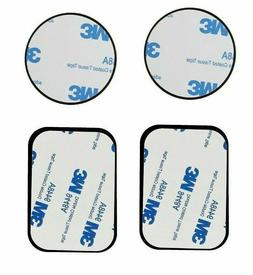 Replace Metal Rectangular Plates Sticker for Magnetic Magnet