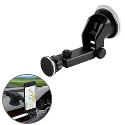 Retractable Magnetic Car Dash Mount Dock Window Holder Unive