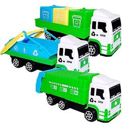 Gbell Sanitation Car Toys Kids Play Vehicles,Imaginative Tru