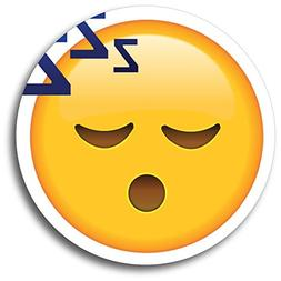 Sleeping ZZZ Emoji Magnet Decal Perfect for Car or Truck