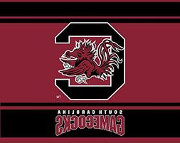 "SOUTH CAROLINA GAMECOCKS 5"" X 6"" STRIPE DESIGN DECAL-SOUTH C"
