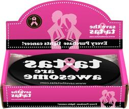 ta-tas are Awesome Bumper Magnet - Black - 48 pack