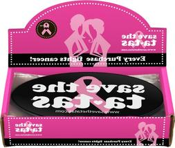Save the ta-tas Bumper Magnet - Black - 48 pack