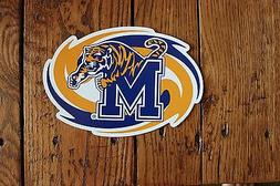 Tigers Car Magnet Memphis State College Football Sports Deco
