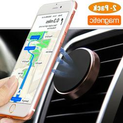 Universal 360 Stand Cell Phone GPS AC Air Vent Magnetic Car
