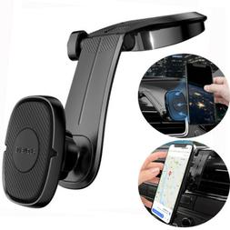 Universal Car Dashboard Magnetic Phone Holder 360 Rotation f