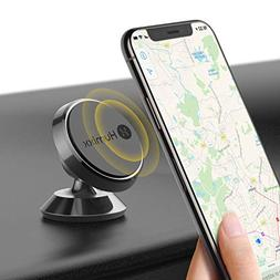 Magnetic Phone Holder for Car, Humixx 360° Adjustable Dashb