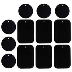 Universal Metal Plate 12 Pack for Magnetic Phone Car Mount H