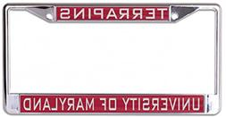 WinCraft University of Maryland Terrapins License Plate Fram