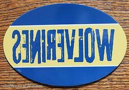 University of Michigan Wolverines Car Magnet Made In The USA