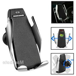 US Automatic Clamping Wireless Car Charging Charger Mount Ai