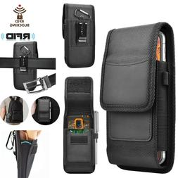 vertical nylon wallet case holster pouch
